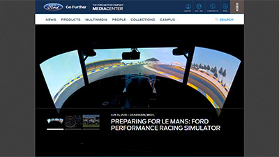 Screenshot media.ford.com