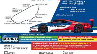 Follow the Race Le Mans
