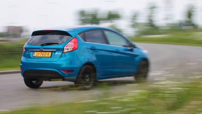 Ford Fiesta Candy Blue Edition