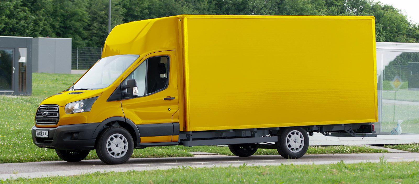 Ford En Deutsche Post Bouwen Samen Elektrische Bestelauto