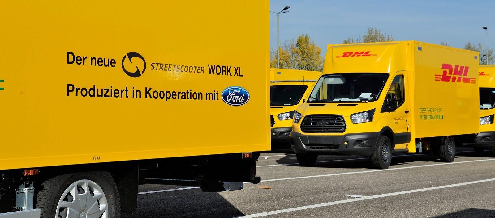 Ford Start Productie Van Elektrische Streetscooter Work Xl